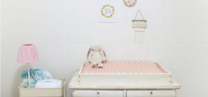quarto decorado para bebé